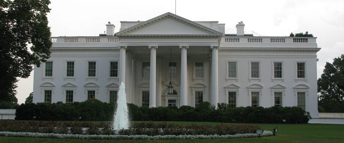 Fotografía exterior de la Casa Blanca